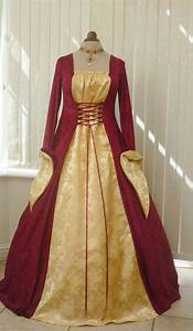 Gothic Renaissance Gowns | Gothic Medieval Ball Gown ...
