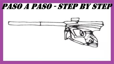 ¡no tienes que ser un fanático de las armas para poder dibujar una pistola 9mm! Como dibujar una Pistola de Paintball l How to draw a Paintball Gun - YouTube