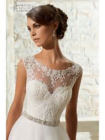lace topper for wedding dress mori 5315 venice lace top tulle skirt style bridal gown ivory
