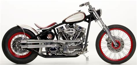 Covington's Custombobber Custom Motorcycle