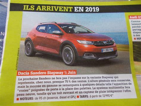 Nouvelle Dacia 2019 by Futures Sandero 2019 La Classe Sandero Dacia