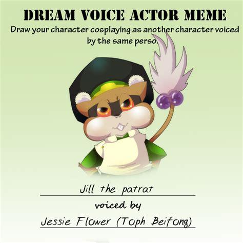 Jill Meme - pkmna voice actor meme jill by tamarinfrog on deviantart