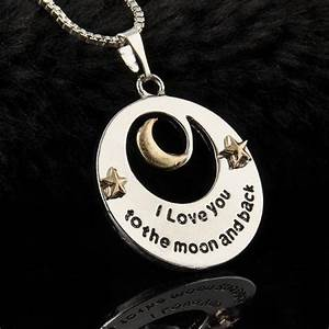 "YOU NEED : "" I love you to the Moon "" Necklace"