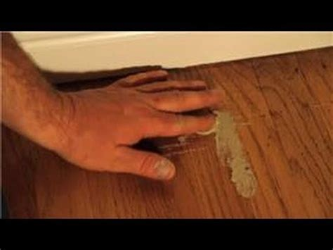 Hardwood Floor Cleaning & Maintenance : How to Fix a Gouge