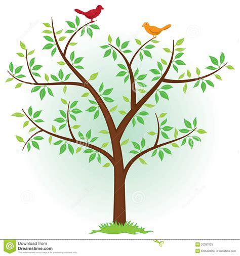 tree with birds royalty free stock photo image 20357625