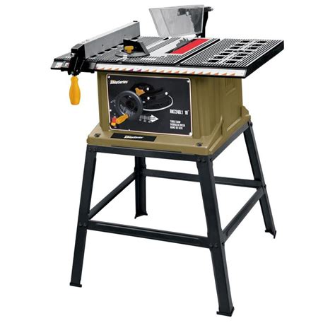 toolkraft 10 inch table saw shop shop series by rockwell 13 amp 10 in carbide tipped