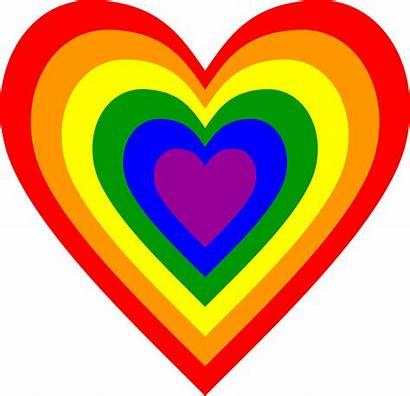 Rainbow Heart Clipart Clip Svg Hearts Caldwell