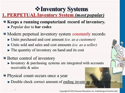 perpetual inventory system youtube