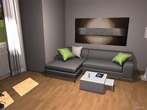 Raumplanung Modernes Wohnzimmer Mit Erker Roomeon Community