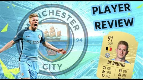 Kevin De Bruyne (91) PLAYER REVIEW FIFA 21 - YouTube