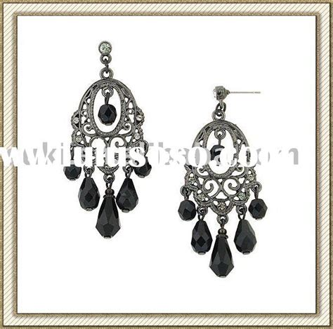 large black chandelier earrings large black chandelier