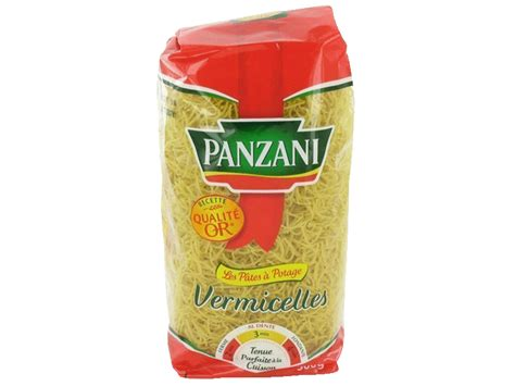 pates panzani vermicelles 500g tous les produits p 226 tes