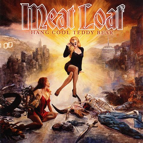 Carátula Frontal de Meat Loaf - Hang Cool Teddy Bear - Portada