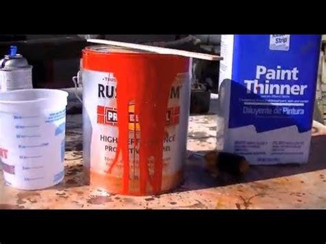 perfect rustoleum mixing ratio   Doovi