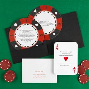 the purple mermaid ace of hearts wedding invitations With wedding invitations las vegas style