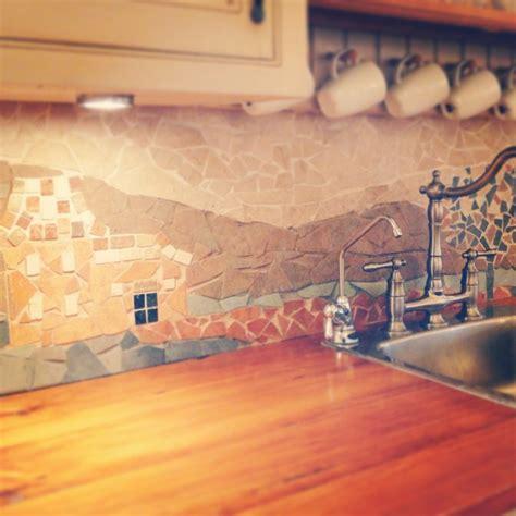 kitchen tile mosaic 7 and bold diy mosaic kitchen backsplashes shelterness 3266