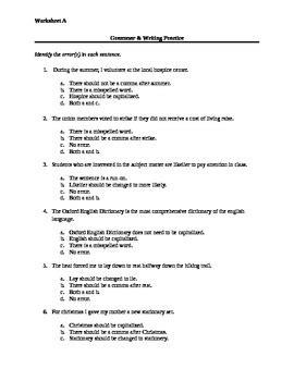 Sat Prep Worksheets  Kidz Activities