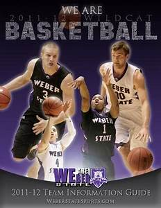 2011-12 Weber State Men's Basketball Information Guide by ...