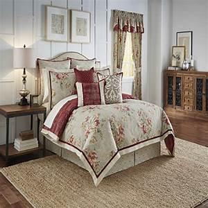 Fresco, Flourish, By, Waverly, Bedding, Collection