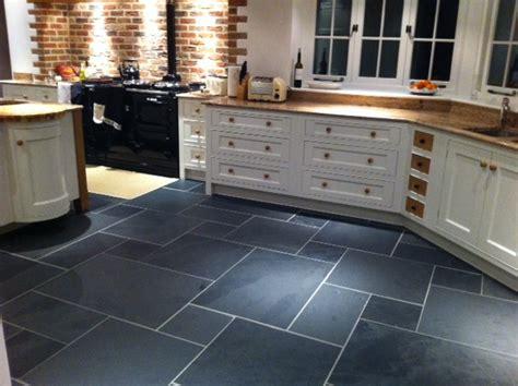 calibrated riven black slate slab tiles