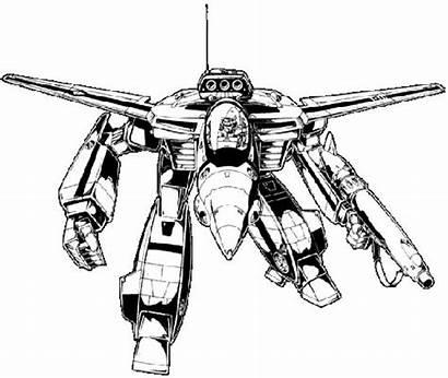 Veritech Robotech Fighter Robot Line Vf Valkyrie