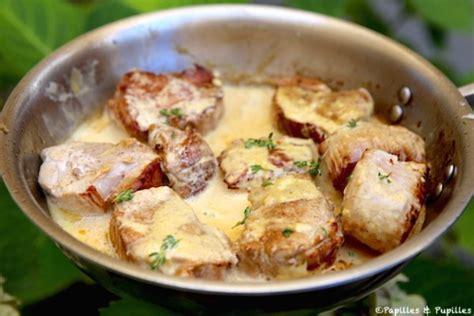 comment cuisiner filet mignon de porc filet mignon à la moutarde et à la crème