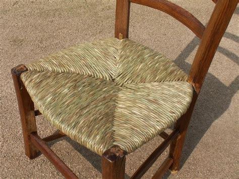 paillage chaise rempaillage chaise