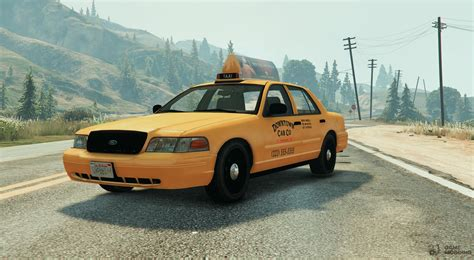 Vapid Taxi Replace For Gta 5