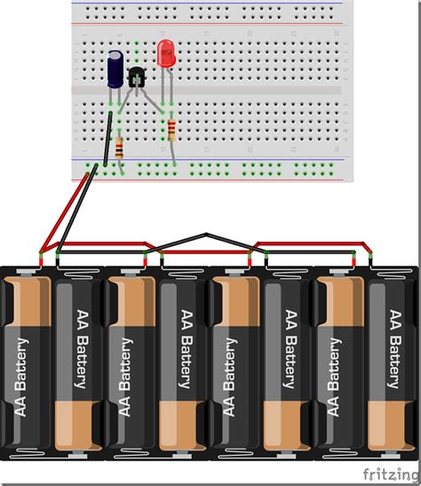How Build Simple Blinking Led Circuit With