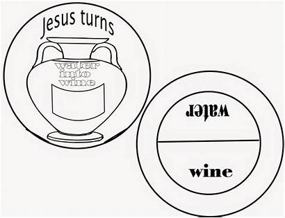 Wine Jesus Water Into Miracle Sunday Turns