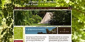 camping les pommiers pays d39auge With camping honfleur avec piscine couverte 2 camping et chalet les pommiers 224 st sylvestre de