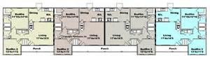 Plex Apartment Plans Pictures by Apartment Plan J1964 4b 4 Plex Multi Unit Plans