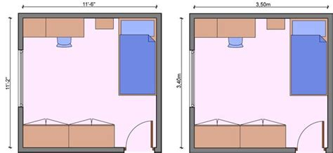 bedroom with measurements bedroom measurements children room dimensions