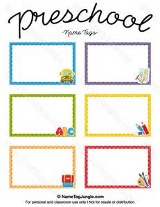 25 best ideas about preschool name tags on kindergarten name tags preschool