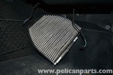 Mercedes-benz W204 Cabin Air Filter Replacement
