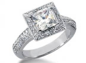 square engagement rings square engagement ring 1553 in accent engagement rings excel diamonds