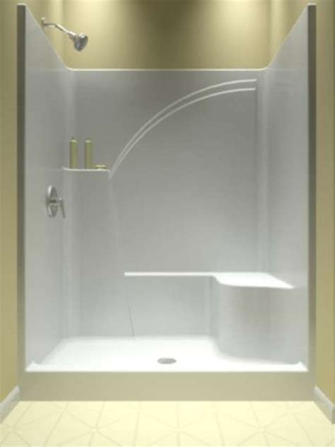 5 Foot Fiberglass Shower by The 25 Best One Shower Stall Ideas On