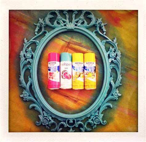 cool spray paint colors best 25 spray paint frames ideas on painted