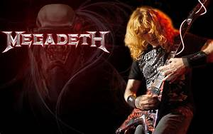 Megadeth bands groups heavy metal thrash hard rock Dave ...