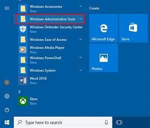 How To Hide    Remove Administrative Tools From Windows 10