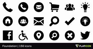 Foundation 150 Free Icons  Svg  Eps  Psd  Png Files