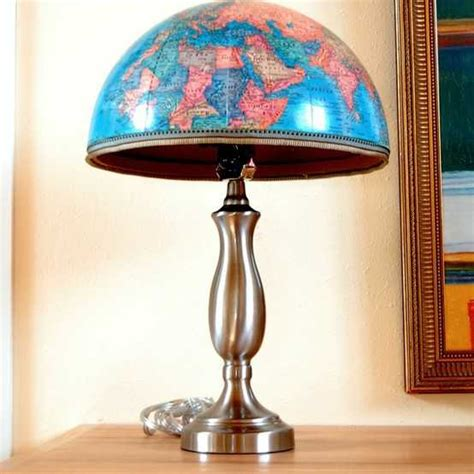 recycling ideas turning  globes  home