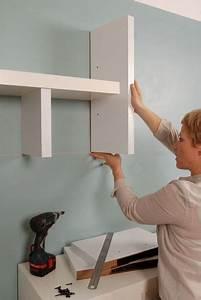 Etagere A Fixer Au Mur : do it yourself une tag re customis e c t maison ~ Teatrodelosmanantiales.com Idées de Décoration