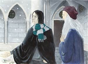 Snape and Dumbledore by Pojypojy on DeviantArt