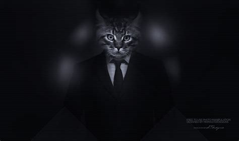 Animals In Suits Wallpaper - cat big cats majestic casual channel