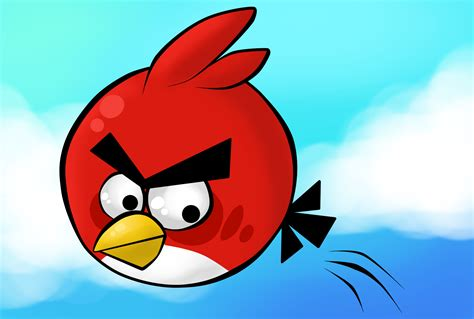 Angry Bid by Angry Birds Hd Wallpaper Image For Desktop