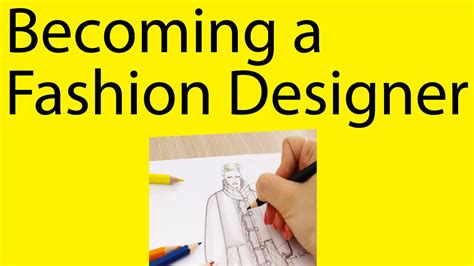 how to become a designer want to become a fashion designer