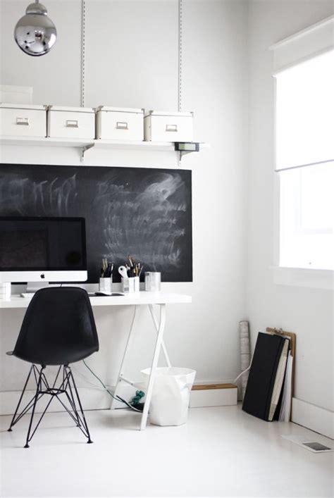 tableau bureau 77 idées créatives pour faire un tableau noir en peinture