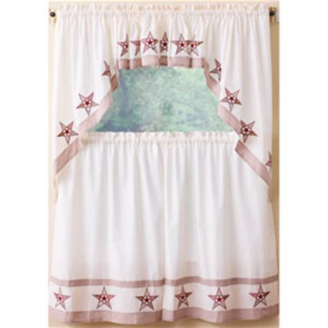 Country Stars Tier Curtain Collection Boscov's