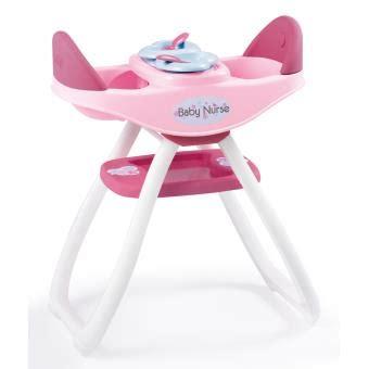 chaise haute jumeaux baby smoby accessoire poupée